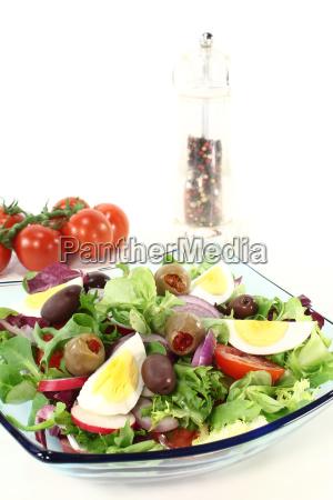 chef, salad - 5593021