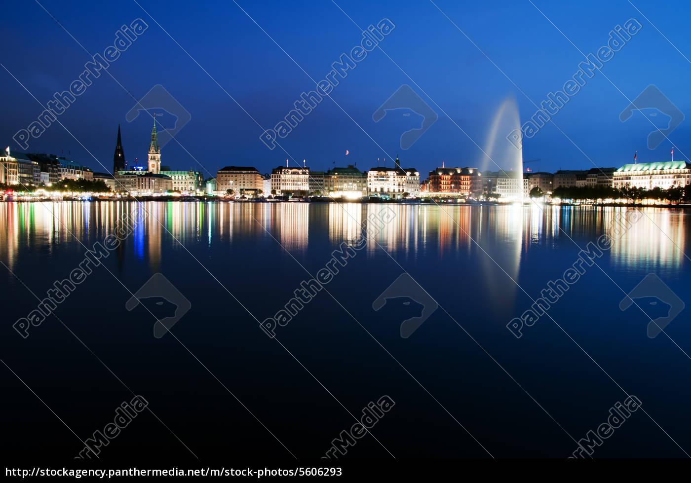 alster, evening - 5606293