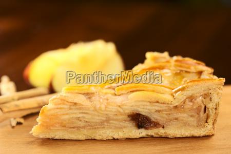slice of delicious apple pie