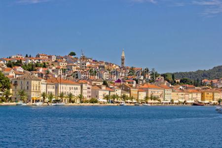 adriatic town of mali losinj view