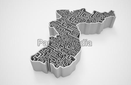 concepts no people nobody maze cross