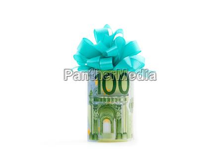 100 euro money gift
