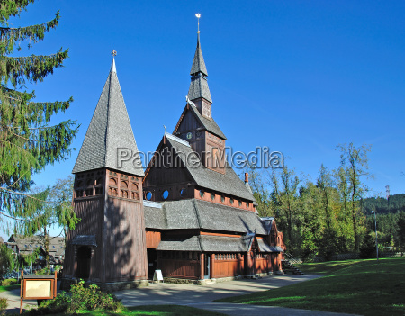 stave church in hahnenklee harz