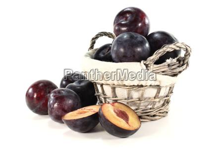 fruit stone fruit violet plum plums