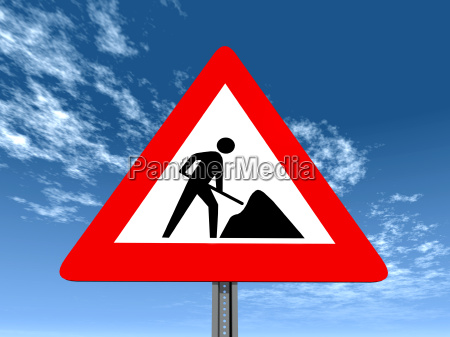 traffic signs construction