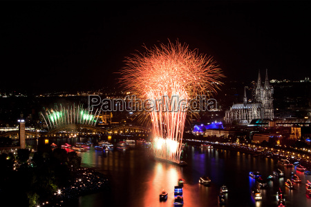 magnificent new year fireworks