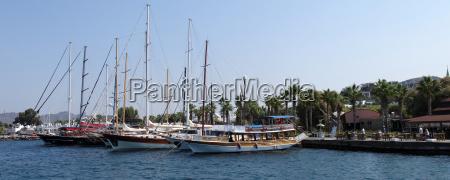 marina in yalikavak turkey