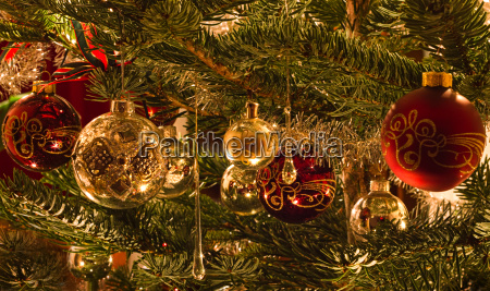 colorful image of decoration in christmas