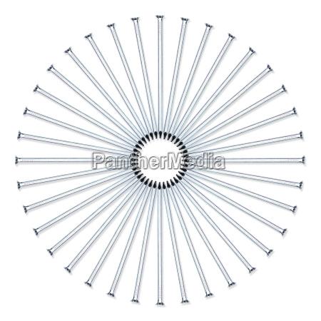nail circle