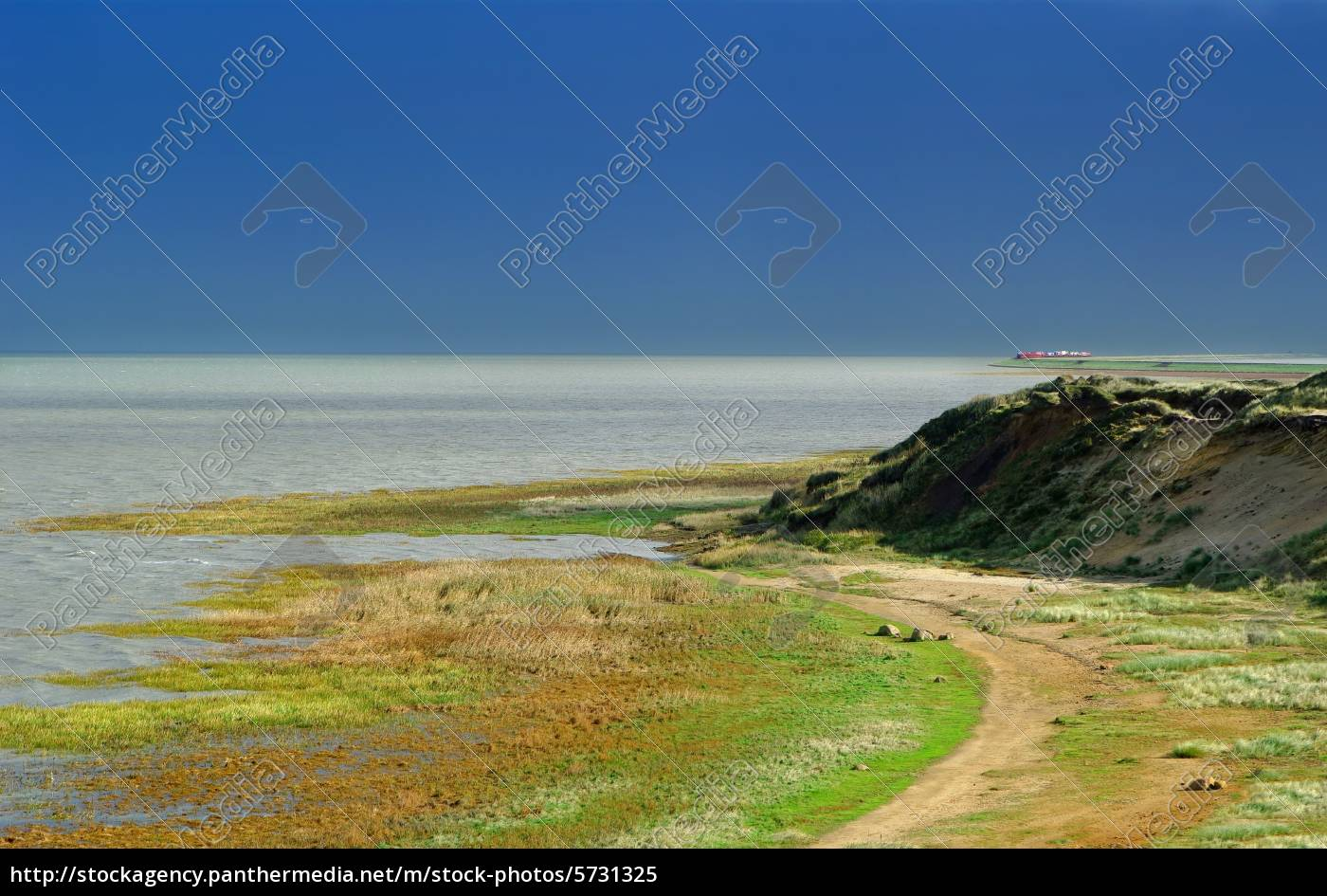 sylt, morsum, cliff, overlooking, the, auto - 5731325