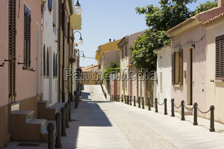 street st teresa sardinia italy