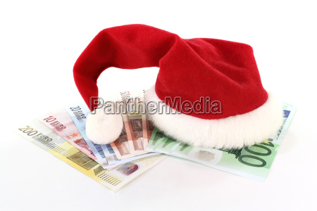 christmas, hat, with, money - 5785487