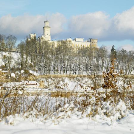hluboka nad vltavou chateau czech republic