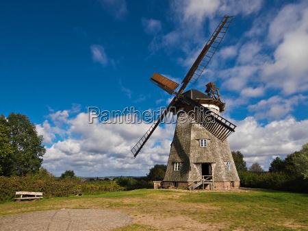 agricultura moinho de vento estilo de