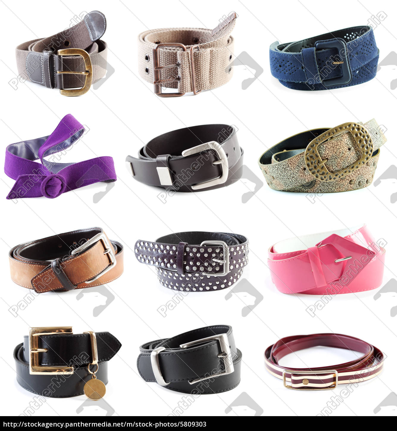 belts, collection, #1, |, isolated, - 5809303