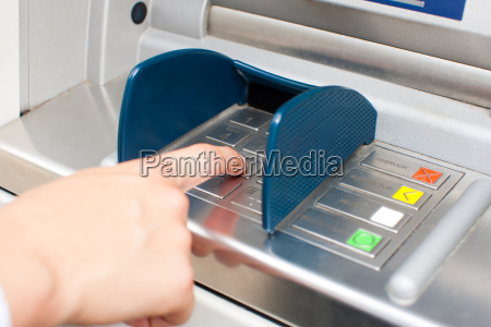 woman raises money from the atms