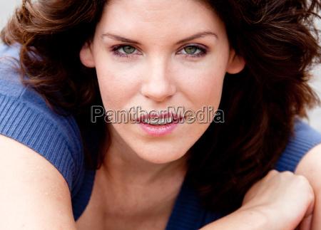 portrait of the actress rahel leschnik
