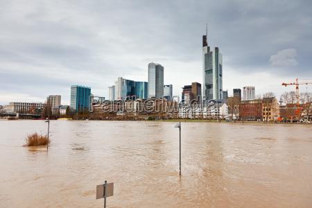 flood in frankfurt