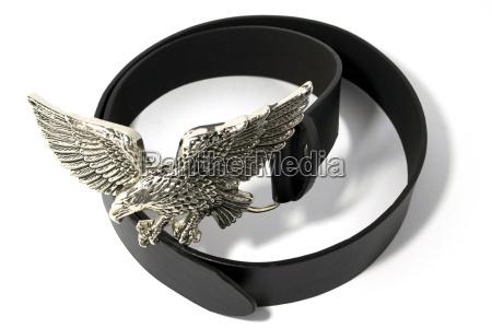 belt with eagle