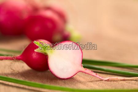 fresh raw radish