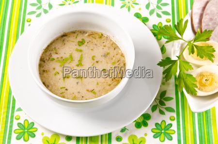 zurek is a decent polish soup