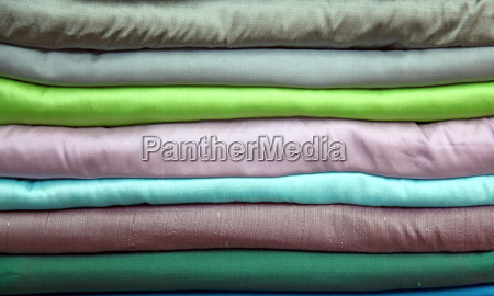 stack of silk