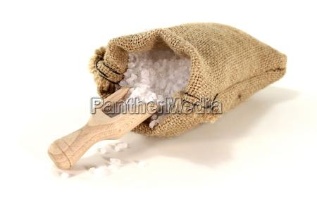 white sea salt