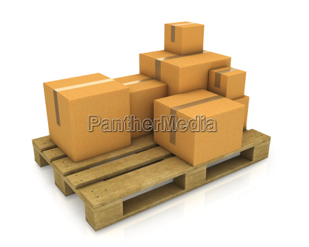 stack of different sized carton boxes