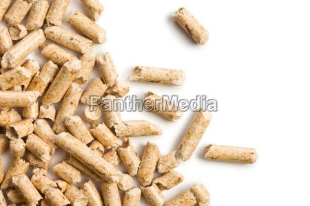 wooden pellet ecological heating