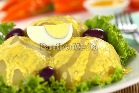 peruvian dish called papa a la