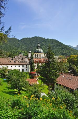 kloster ettal near oberammergau