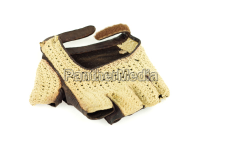 vintage fingerless glove