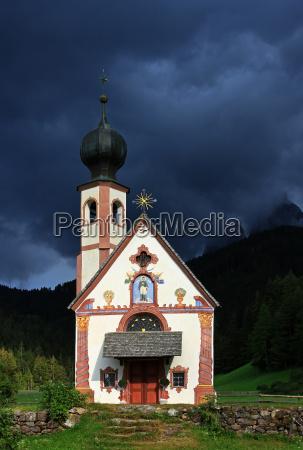 chapel in the light