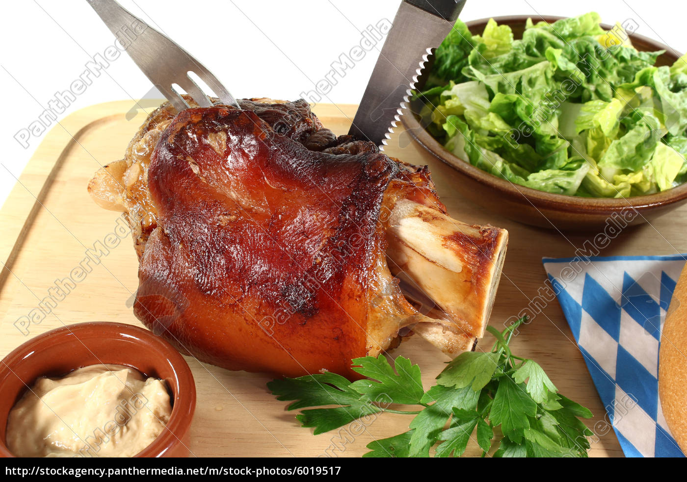 fresh, pork, with, cutlery - 6019517