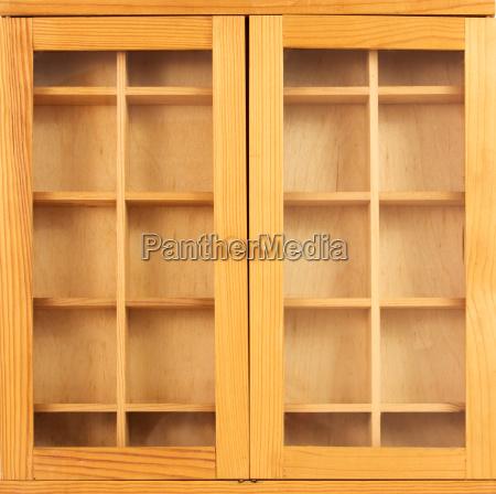 closed cabinet