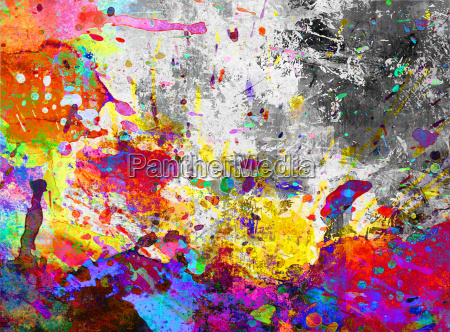 splat colors background