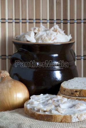 lard in ceramic
