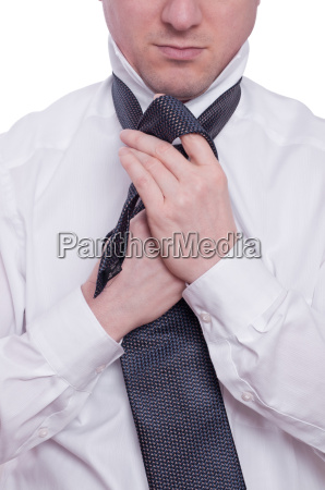 tie and shirt