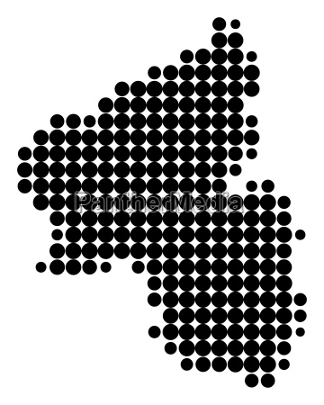 map of rhineland palatinate