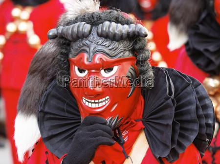 carnival costume mask devil devils