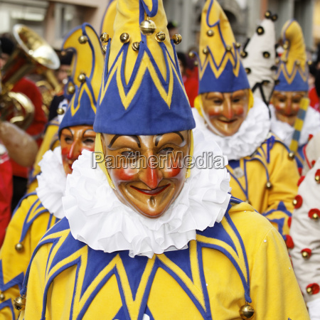 carnival costume fool mask