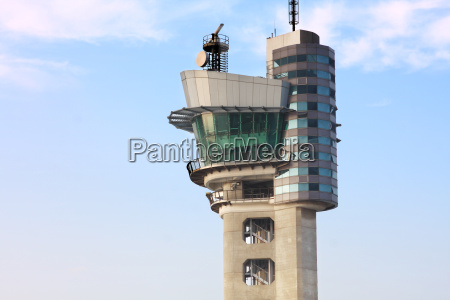 air traffic control tower at an