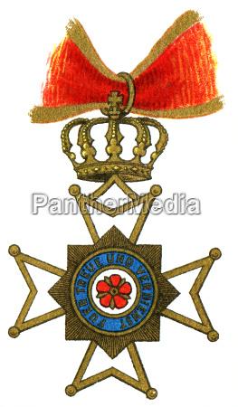 cross of honour of lippe lippe