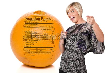 orange nutrition facts