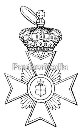cross of honour principality of reuss