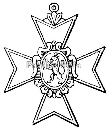 cross of honour of schwarzburg 1857