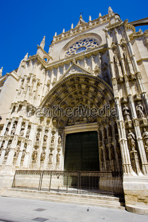 cathedral of seville andalusia spain