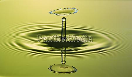 gravity dancing waterdrop