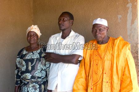 african family of burkina faso