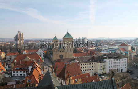 view over osnabrueck